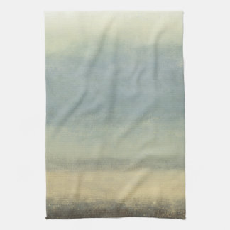Abstract Landscape with Overcast Sky Towel