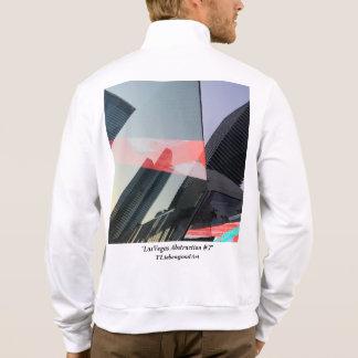 Abstract, Las Vegas, unique, fleece sweatshirt. Jacket