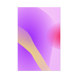 Abstract Lavender Canvas Print