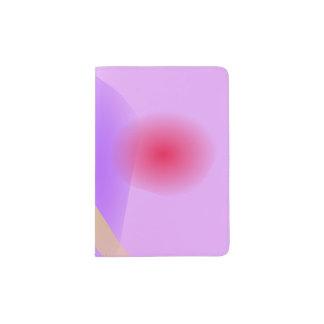 Abstract Lavender Passport Holder