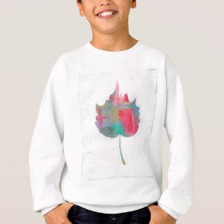 Abstract leaf 2 sweatshirt