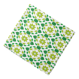 Abstract Leaf Design Bandana
