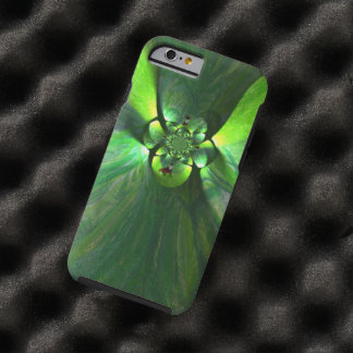 Abstract leaf fox art tough iPhone 6 case