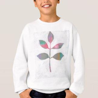 Abstract leaf sweatshirt