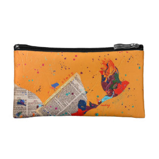 Abstract Letter Trail Bag