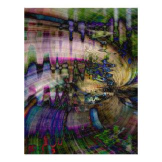 Abstract Letterhead