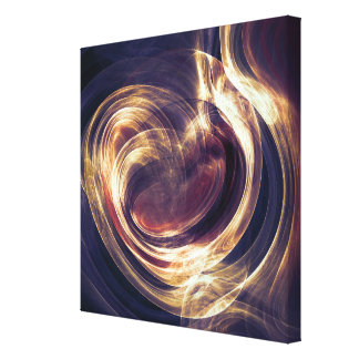 Abstract Light - Aura of Life Canvas Print