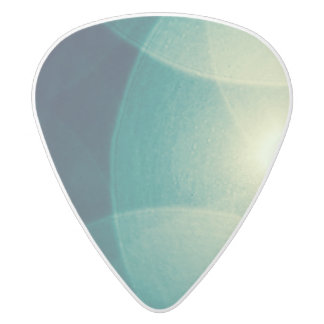 Abstract Light Guitar Pick White Delrin Guitar Pick