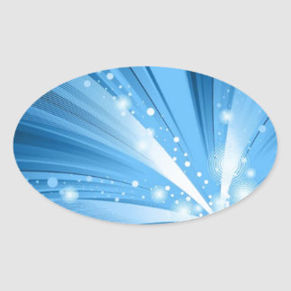 ABSTRACT LIGHT RAYS  BLUES WHITE SPACE TEXTURES WA STICKERS