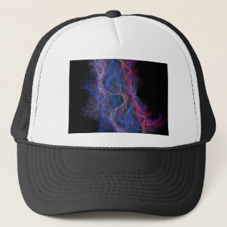 Abstract lightning background trucker hat