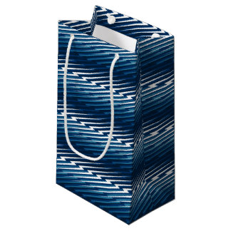 Abstract lightning small gift bag