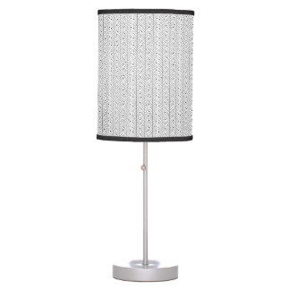 Abstract line pattern desk lamp