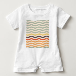 Abstract lines baby romper