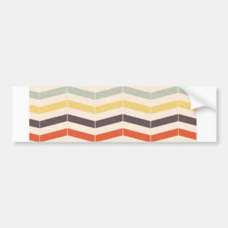 Abstract lines bumper sticker