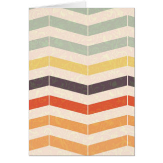 Abstract lines card
