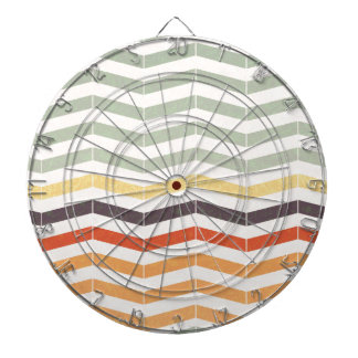 Abstract lines dartboard