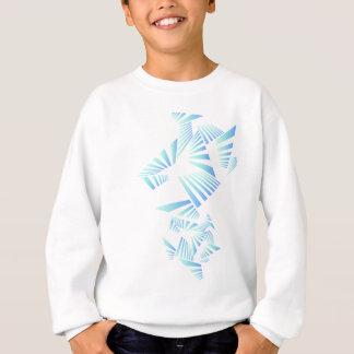 abstract lines design sweatshirt