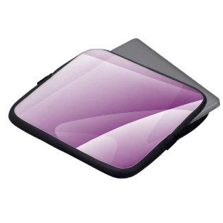 Abstract Lines Purple Neoprene Laptop Sleeve 10''