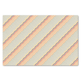 Abstract lines tissue paper