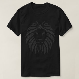Abstract Lion on Tee
