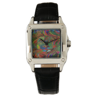 Abstract Lion Watch