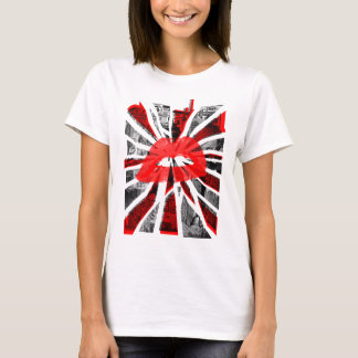 Abstract Lips T-Shirt