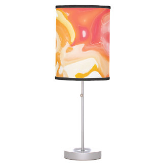 Abstract Liquid Sun Rays Table Lamp