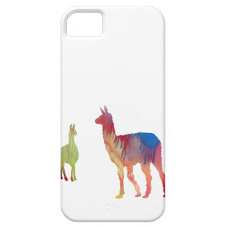 Abstract Llama silhouette iPhone 5 Case
