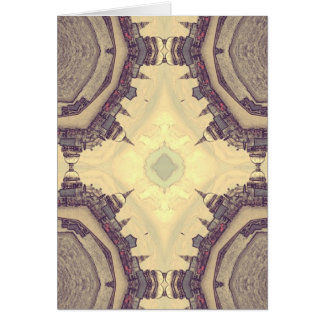Abstract London Card
