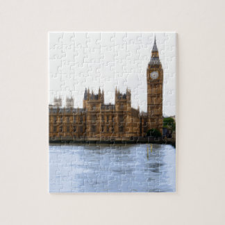 abstract london - westminster jigsaw puzzle