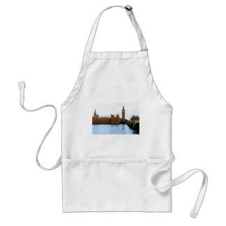 abstract london - westminster standard apron