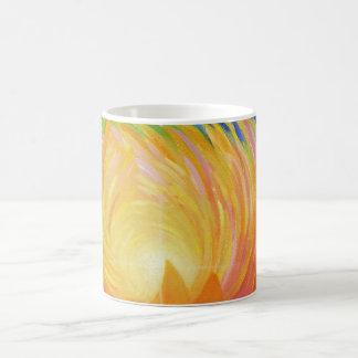Abstract Lotus Flower Coffee Mug