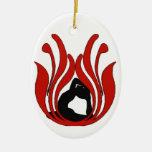 Abstract Lotus - Yoga Ornament