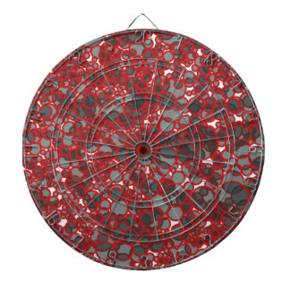 Abstract Love Dartboard