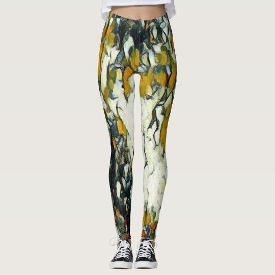Abstract Love Leggings