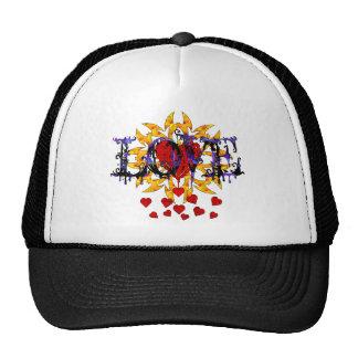 Abstract Love Valentine Trucker Hat