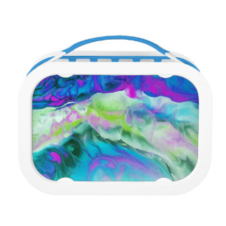 Abstract Lunch Box