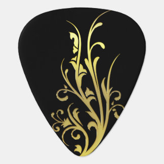 Abstract Luxury Gold Flower Pick