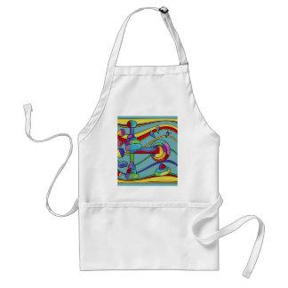 Abstract machine standard apron