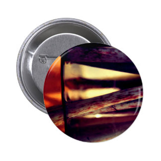 Abstract macro 2 inch round button