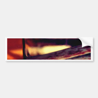 Abstract macro bumper sticker