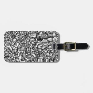 Abstract Macro Shapes Luggage Tag