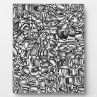 Abstract Macro Shapes Plaque