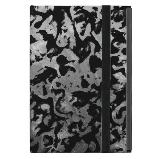 Abstract Magic - Silver Black Cover For iPad Mini