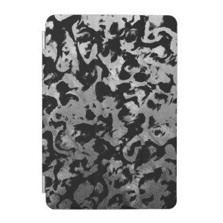 Abstract Magic - Silver Black iPad Mini Cover