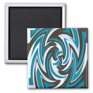 Abstract Square Magnet