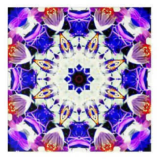 Abstract Mandala Acrylic Wall Art