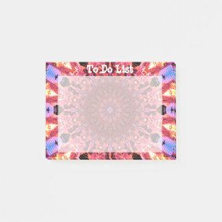 Abstract Mandala Art Post-it Notes