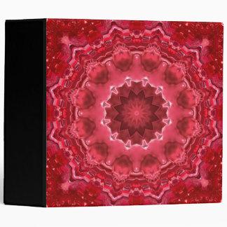 Abstract , mandala , kaleidoscope binders