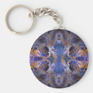 Abstract Mandala Keychain